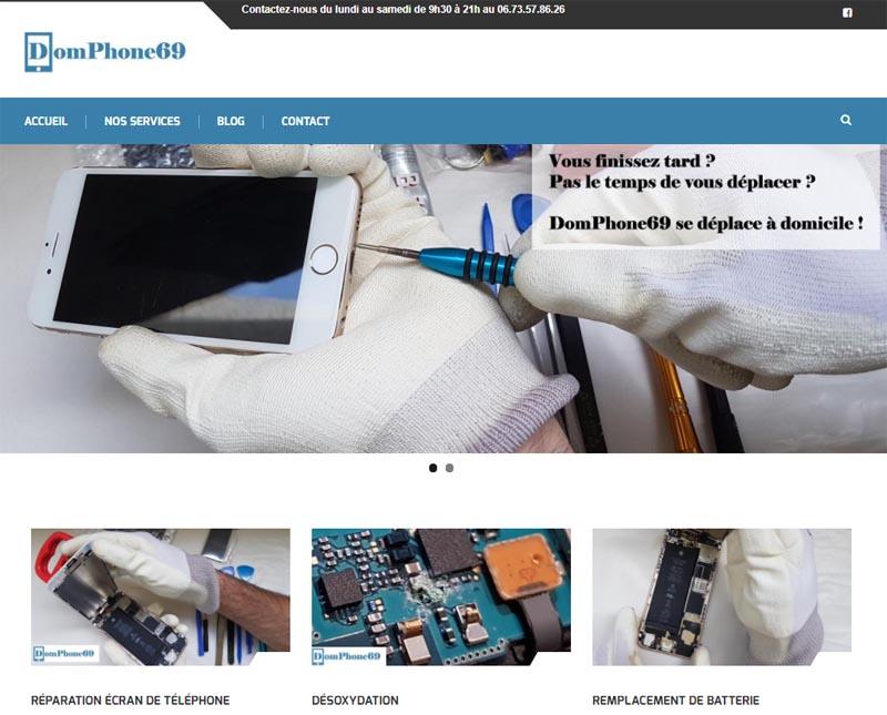 DomPhone69 répare votre smartphone à domicile à Lyon